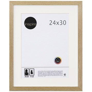 Cadre Lario, 24 x 30 cm, chêne clair