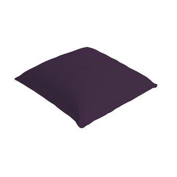 Coussin Bachet, violet aubergine n°1, 40 x 40 cm