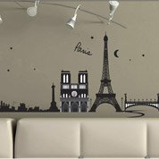 Sticker Paris France 50 cm x 70 cm