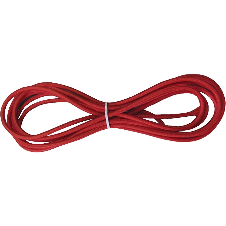 Fil Tissu Tibelec Tissu Rouge Leroy Merlin
