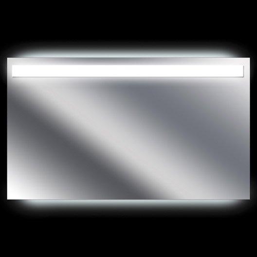 miroir lumineux avec clairage int gr x cm