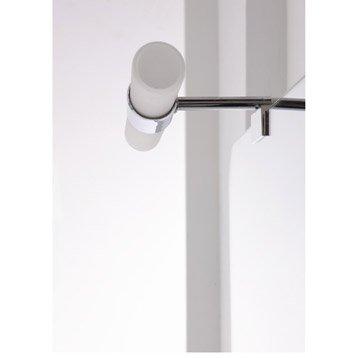 Spot pour miroir de salle de bains varese - Miroir salle de bain leroy merlin ...