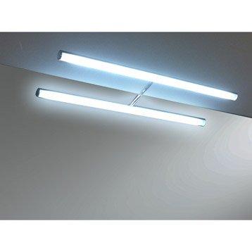 Spot pour miroir accessoires et miroirs de salle de for Miroir avec eclairage pour salle de bain