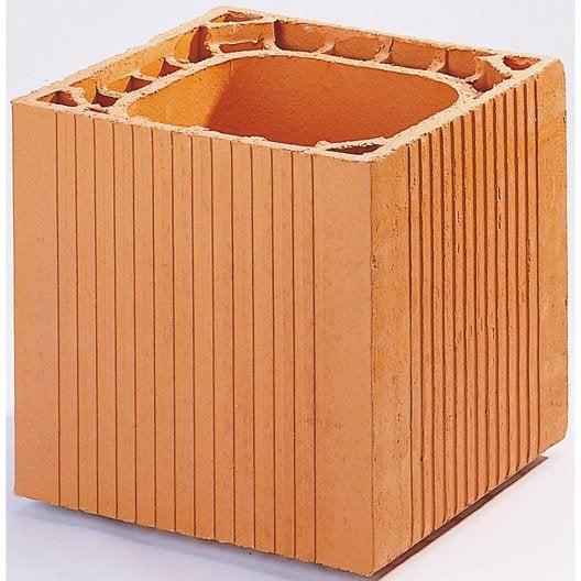 boisseau alv ole terre cuite h25x55x30 cm leroy merlin. Black Bedroom Furniture Sets. Home Design Ideas