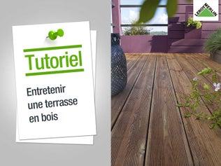 Entretenir une terrasse bois
