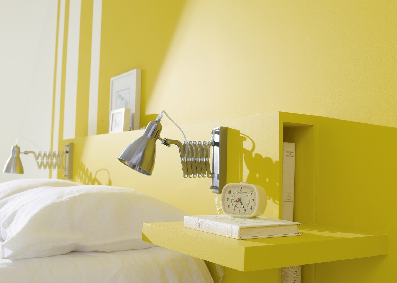 Chambre Adulte Jaune / Orange DULUX VALENTINE