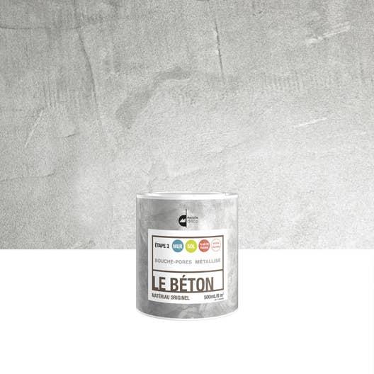 peinture effet le b ton maison deco m tallis 0 5 l. Black Bedroom Furniture Sets. Home Design Ideas