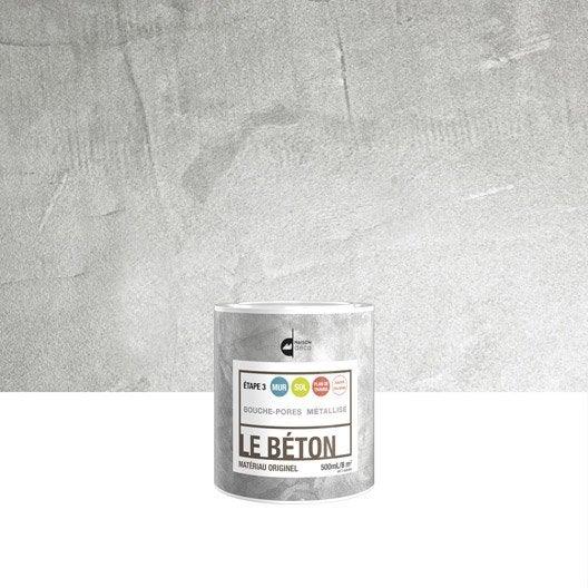 peinture effet le b ton maison deco m tallis 0 5 l leroy merlin. Black Bedroom Furniture Sets. Home Design Ideas