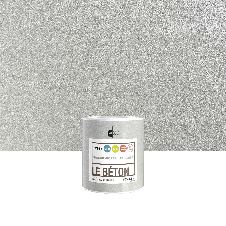Elegant Peinture à Effet, Le Béton MAISON DECO, Pailleté, 0.5 L