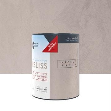 Peinture à effet, Vernis cuisines et bains reliss  MAISON DECO, transparent, 1 l