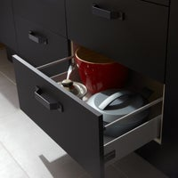casserolier mat noir leroy merlin. Black Bedroom Furniture Sets. Home Design Ideas