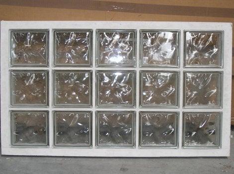 L univers de la cloison leroy merlin - Fixation brique de verre ...