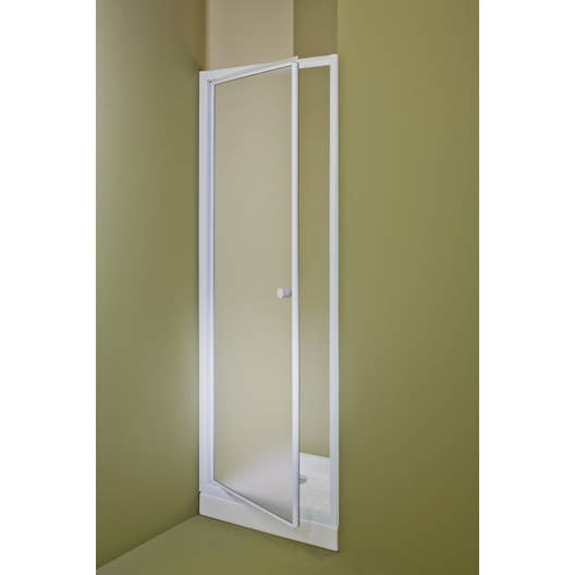 porte de douche pivotante 90 cm granit primo leroy merlin. Black Bedroom Furniture Sets. Home Design Ideas