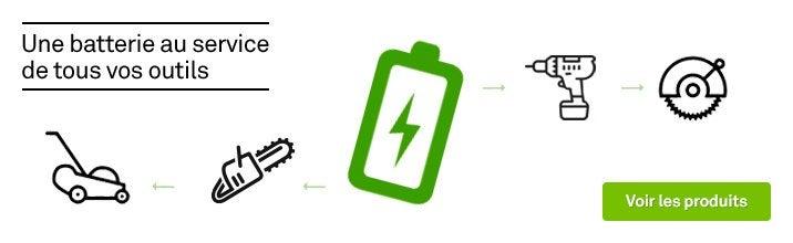 Une batterie au service de tous vos outils