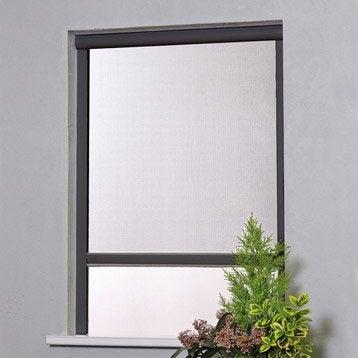 Moustiquaire pour fenêtre H.160 x l.100 cm