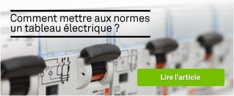 Tableau lectrique electricit domotique leroy merlin - Mise aux normes tableau electrique ...
