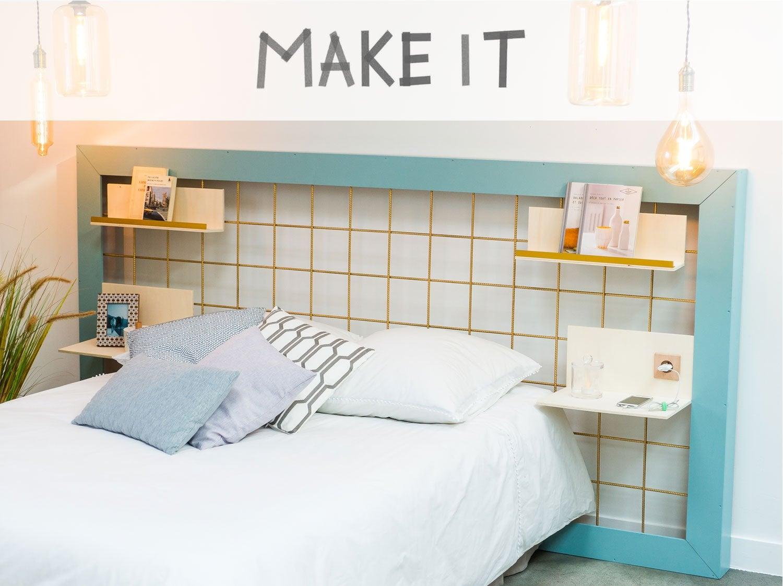 DIY : Réaliser une tête de lit filaire