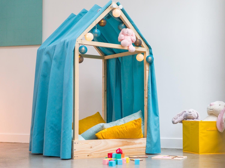 diy r aliser une cabane d 39 int rieur leroy merlin. Black Bedroom Furniture Sets. Home Design Ideas
