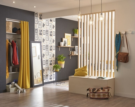 am nagement et id es de d co pour le salon leroy merlin. Black Bedroom Furniture Sets. Home Design Ideas