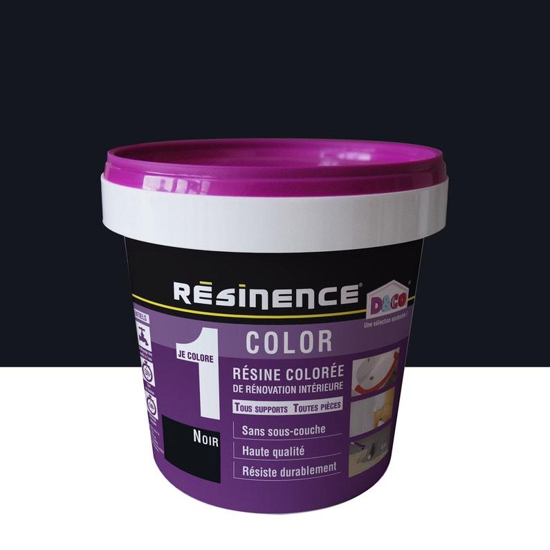 Résine Colorée Color Resinence Noir 05 L Leroy Merlin