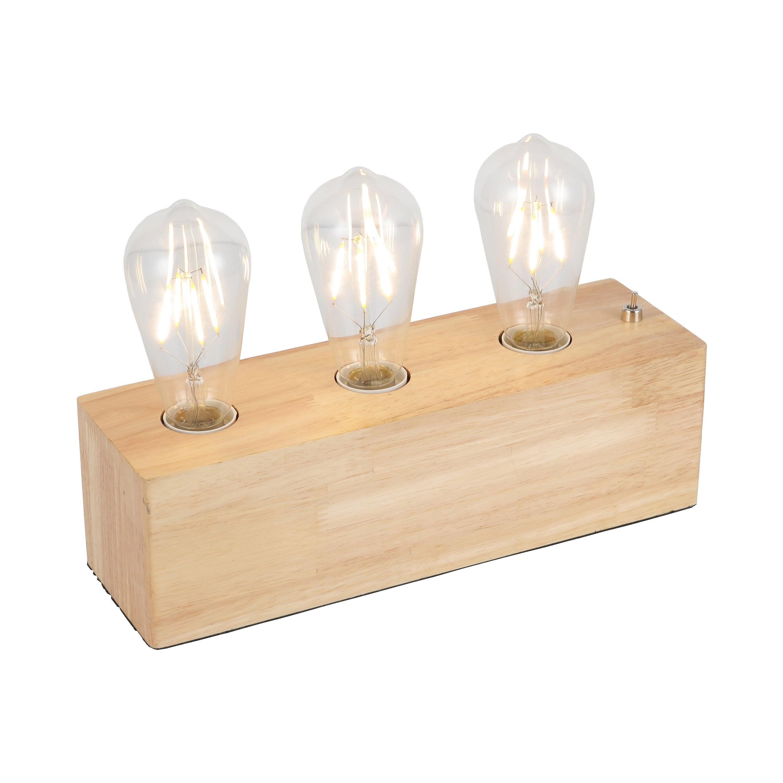 Lampe, scandinave, bois, SAMPA HELIOS JANE