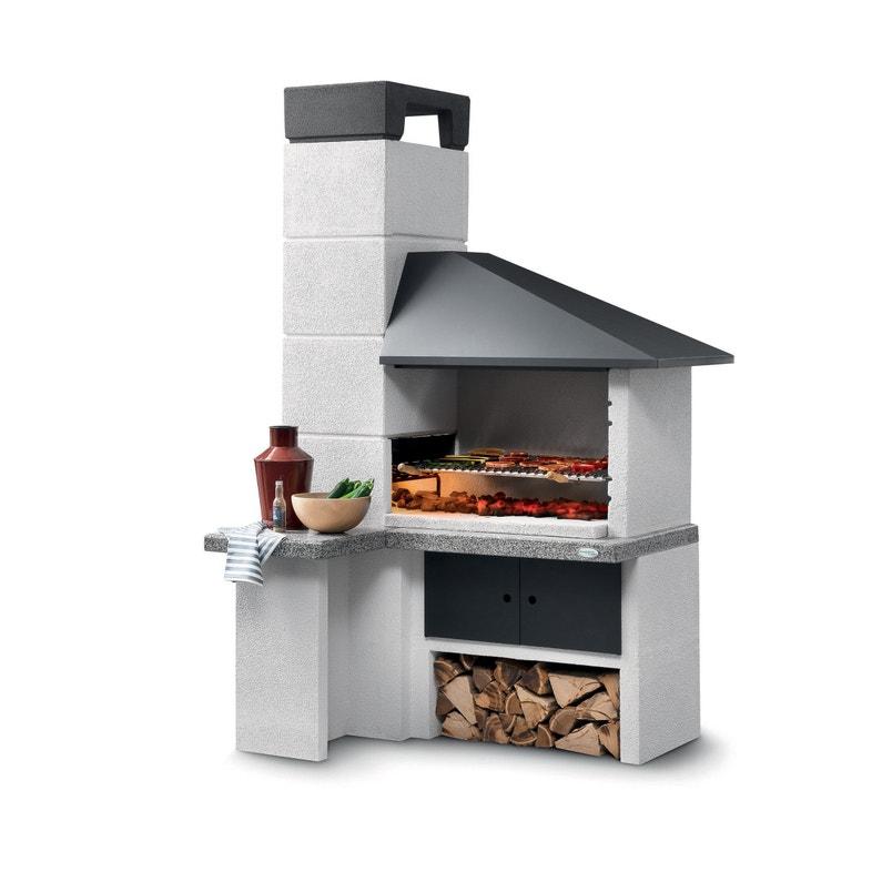 Barbecue Fixe Palazzetti Faro New Blanc Leroy Merlin