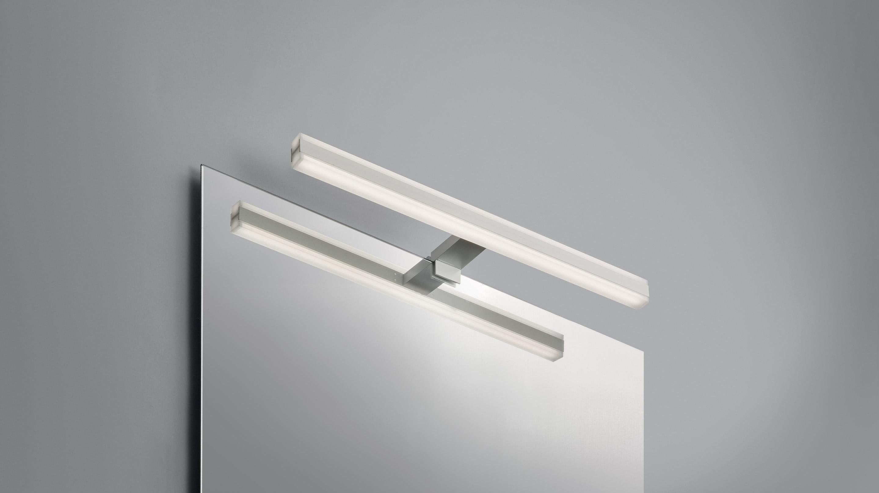 Applique, design métal blanc led intégrée LUMIPLUS Triberg
