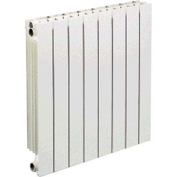 Radiateur chauffage central Vip 8 éléments blanc, l.64 cm, 1144 W