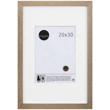 Cadre Lario, 20 x 30 cm, chêne clair