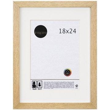 Cadre Lario, 18 x 24 cm, chêne clair