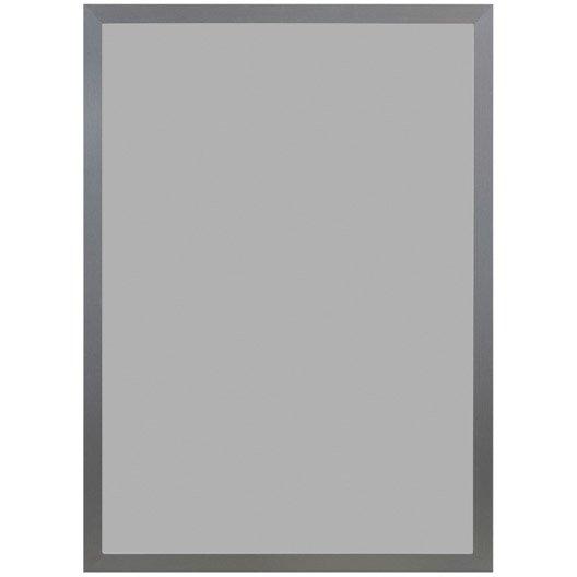 Cadre Stockton, 70 x 100 cm, argent