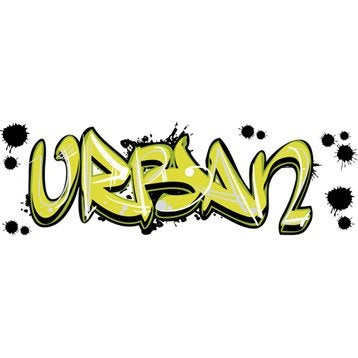 Sticker Urban 23.5 cm x 67 cm