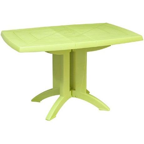 Table de jardin salon de jardin table et chaise leroy - Salon de jardin grosfillex vega vert anis ...
