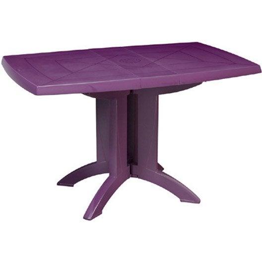 Table De Jardin Rectangulaire V Ga Grosfillex Leroy Merlin