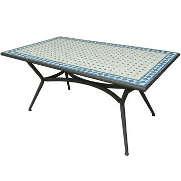 Table de jardin salon de jardin table et chaise leroy for Leroy merlin table jardin