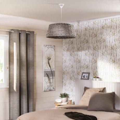 Une chambre au style naturel