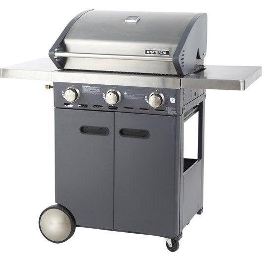 Barbecue au gaz naterial florida 3 br leurs gris 3 - Avis barbecue naterial florida ...