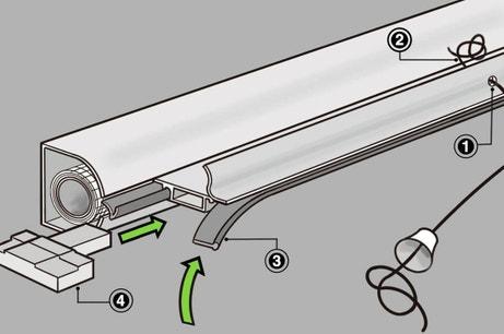 Comment installer une moustiquaire enroulement leroy merlin - Comment installer une moustiquaire ...