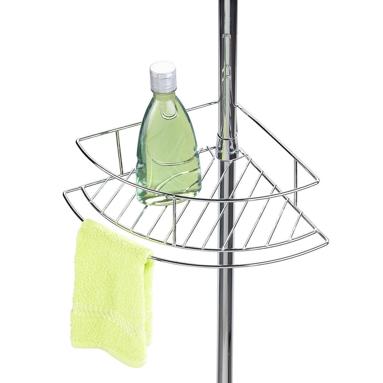 etag re de bain douche d 39 angle poser chrom brillant. Black Bedroom Furniture Sets. Home Design Ideas