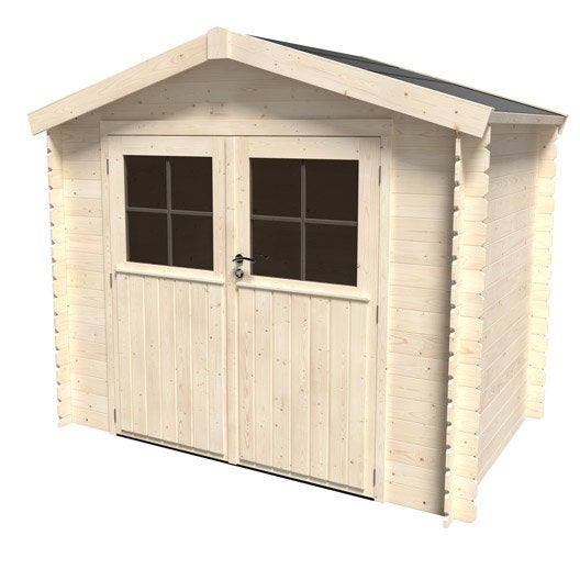 Abri de jardin bois, métal, résine, chalet de jardin au meilleur ...