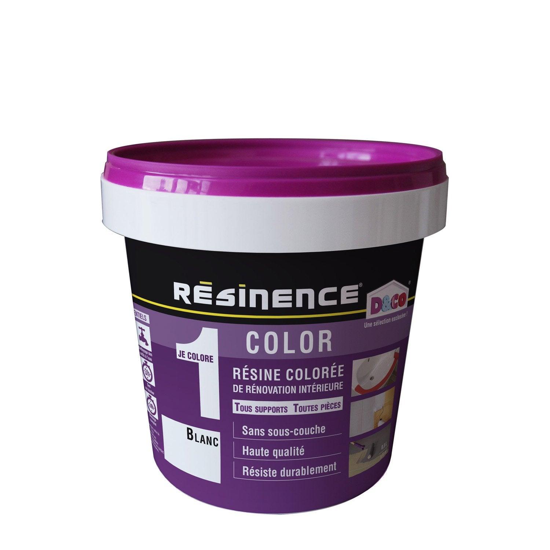 Attrayant Résine Colorée Color RESINENCE, Blanc, 0.5 L