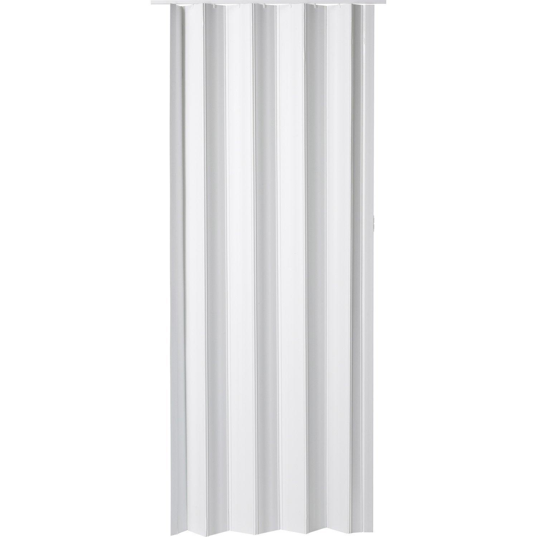 Porte Extensible Eco Blanc 203 X 85 Cm Epais D Une Lame 6 Mm