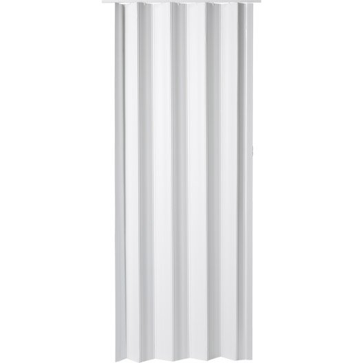 Porte accord on eco en r sine de synth se blanc 203 x 85 for Porte accordeon pour douche