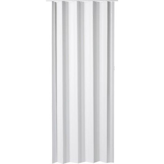 Porte accord on eco en r sine de synth se blanc 203 x 85 for Porte accordeon pour douche