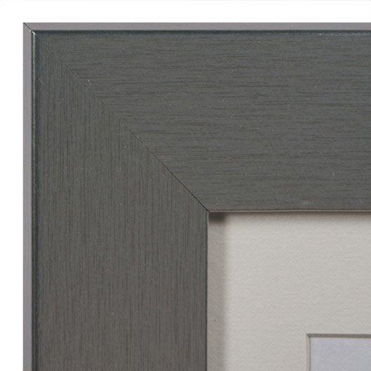 cadre stockton 20 x 30 cm argent leroy merlin. Black Bedroom Furniture Sets. Home Design Ideas