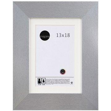 Cadre Stockton, 13 x 18 cm, argent