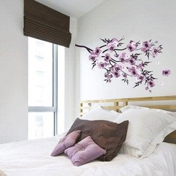 Sticker Fleurs aquarelle, 50 x 70 cm