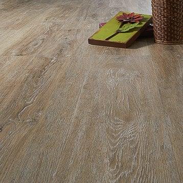 Lame PVC clipsable naturel effet bois Premium clic 5g