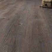 Lame PVC clipsable gris effet bois Premium clic 5g
