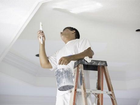 Peindre un plafond leroy merlin - Comment peindre un plafond au rouleau ...
